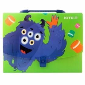 Пластиковый портфель KITE Jolliers А4, 1 отделение