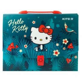 Пластиковый портфель KITE Hello Kite А4, 1 отделение
