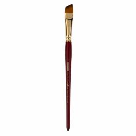 Кисть ZiBi ART Line Cherry 6970 угловая из синтетики №6, короткая ручка