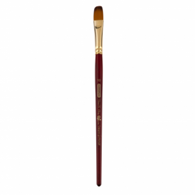 Кисть ZiBi ART Line Cherry 6970 овальная из синтетики №10, короткая ручка