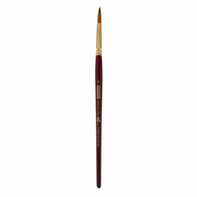 Кисть ZiBi ART Line Cherry 6970 круглая из синтетики №8, короткая ручка