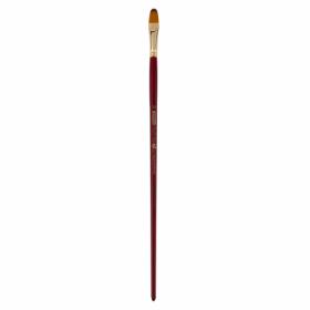 Кисть ZiBi ART Line Cherry 6971 овальная из синтетики №10, длинная ручка
