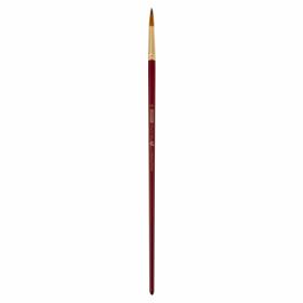 Кисть ZiBi ART Line Cherry 6971 круглая из синтетики №10, длинная ручка