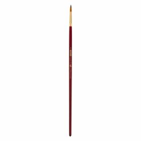 Кисть ZiBi ART Line Cherry 6971 круглая из синтетики №8, длинная ручка
