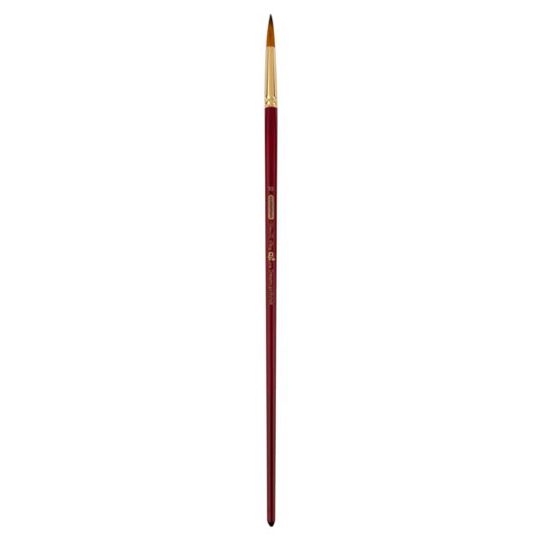 Кисть ZiBi ART Line Ocean 6974 круглая из синтетики №4, длинная ручка