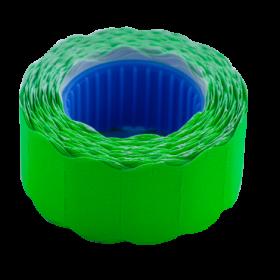Ценник фигурныйBuromax 22х12 мм,500 шт,зеленый