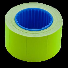 Ценник прямоугольныйBuromax26х16 мм, 375 шт,желтый