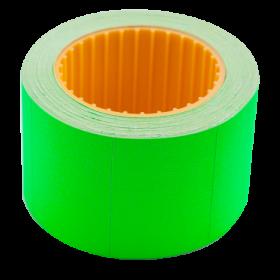 Ценник прямоугольныйBuromax35х25 мм, 240 шт,зеленый