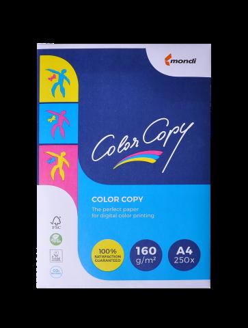 Офисная бумага Color Copy А4, 160 г/м2, 250 листов