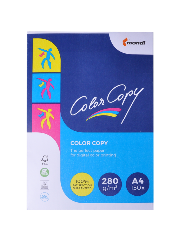 Офисная бумага Color Copy А4, 280 г/м2, 125 листов