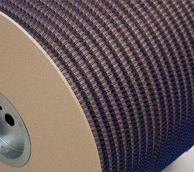 Металлическая пружина в бобине 9.5 мм, Р 42 000 петель, 3:1 синяя
