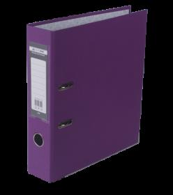 Папка-регистратор Buromax LUX JOBMAX А4, 70 мм, PP, сиреневая