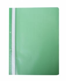 Скоросшиватель Buromax А4, PP, зеленый