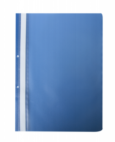 Скоросшиватель Buromax А4, PP, синий