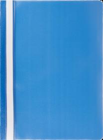 Скоросшиватель Buromax А4, РР, синий