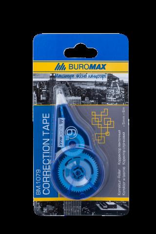 Корректор ленточный BUROMAX5 ммх6 м, голубой
