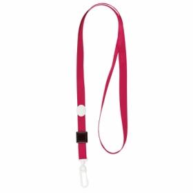 Шнурок для бейджа с карабином Axent, 20 шт, красный