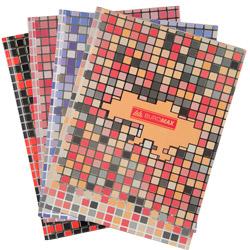 Книга канцелярская Buromax Mosaic А4, 80 листов, ассорти