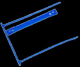 Скоросшиватель для архивных документов, синий