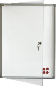 Доска-витрина магнитно-маркерная 2х3 модель 4  3xA4