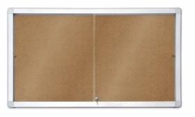 Доска-витрина пробковая 2х3 модель 1  18xA4