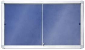 Доска-витрина текстильная 2х3 модель 1  18xA4