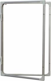 Доска-витрина магнитно-маркерная 2х3 модель 2  90x120 см