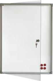 Доска-витрина магнитно-маркерная 2х3 модель 4  4xA4