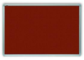 Доска текстильная 2х3 ALU23  60x90 см, бордовая