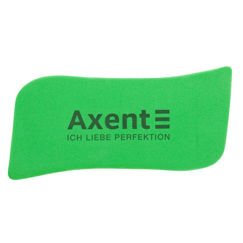 Губка магнитная для досок Axent Wave, зеленая