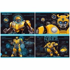 Альбом для рисования KITE Transformers BumbleBee Movie, 12 листов