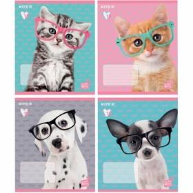 Тетрадь КІТЕ Studio Pets А5,18 листов,линия