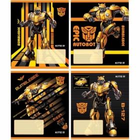 Тетрадь КІТЕ Transformers А5,12 листов,линия