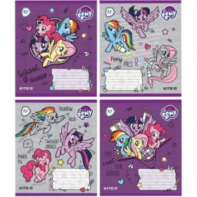 Тетрадь КІТЕ My Little Pony А5,12 листов,линия