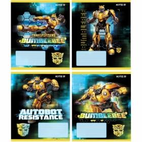 Тетрадь КІТЕ Transformers А5,12 листов, косаялиния