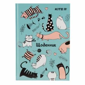 Дневник школьный KITE Funny Cats В5, 42 листа