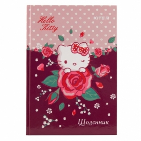 Дневник школьный KITE Hello Kitty В5, 42 листа