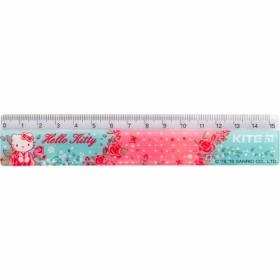 Линейкапластиковая 15 см KITE Hello Kitty