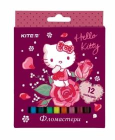 Фломастеры KITE Hello Kitty, 12 цветов