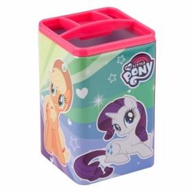 Подставка для ручек металлическая квадратная KITE My Little Pony