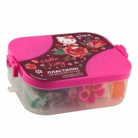 Пластилин KITE Hello Kitty, 7 цветов + 8 инструментов, 380 г
