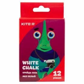 Мел белый KITE Jolliers, 12 шт