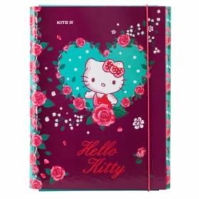 Папка для труда на резинке КІТЕ Hello Kitty А4