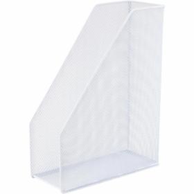 Лоток для бумагвертикальный Axentметаллический, белый