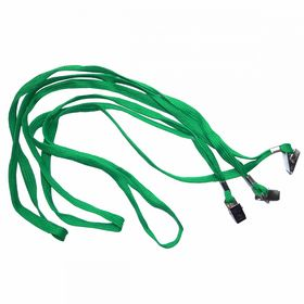Шнурок для бейджа Agent D002 А, 50 шт, зеленый