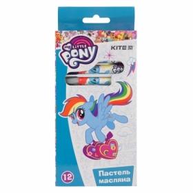 Пастель масляная, KITE  My Little Pony, 12 цветов