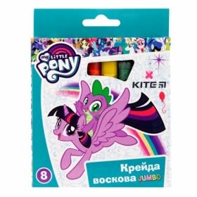 Мелки восковые KITE Jumbo My Little Pony, 8 цветов