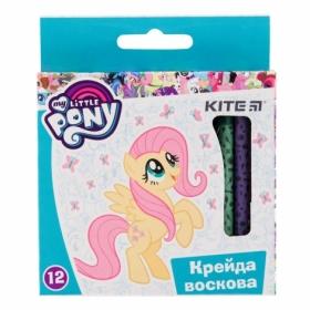 Мелки восковые KITE  My Little Pony, 12 цветов