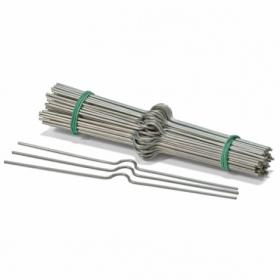 Вешалки для календарей 250 мм, серебро