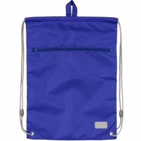 Сумка для обуви с карманом KITE Education Smart, синяя